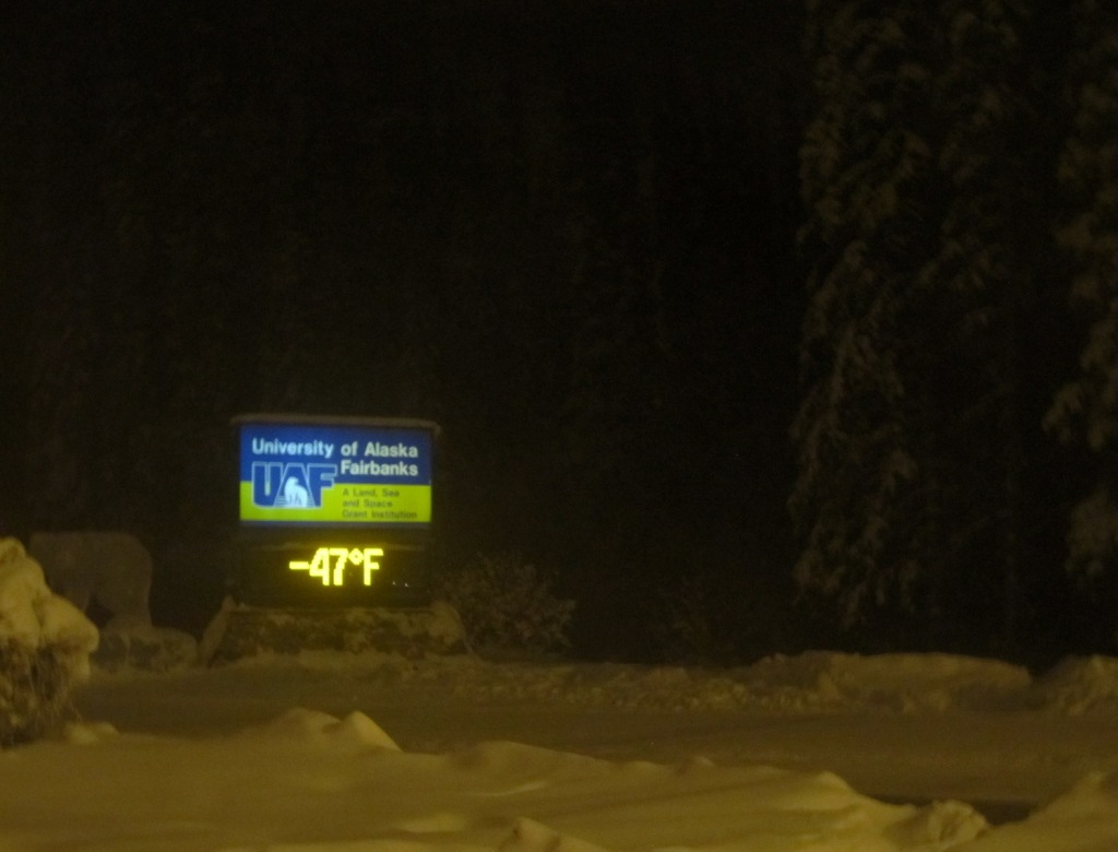 fairbanks alaska 50 below