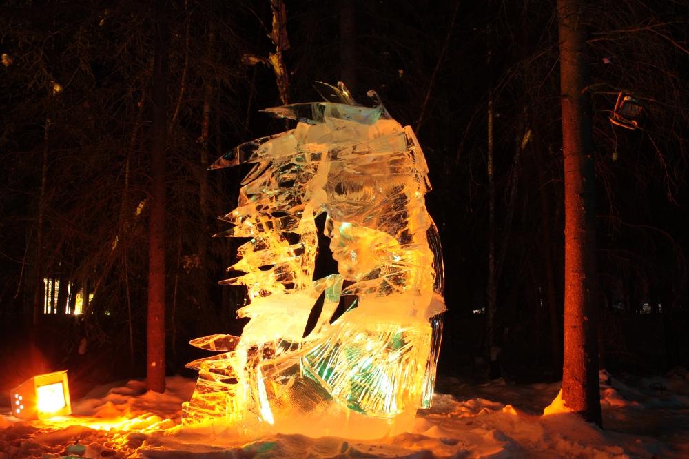 ice art single block 2012
